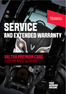 VALTRA Service and Extended Warranty