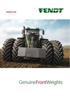 FENDT Genuine Front Weights