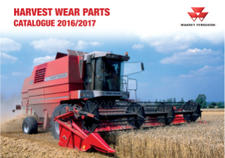 MF Harvest Wear Parts Catalogue 2016/17