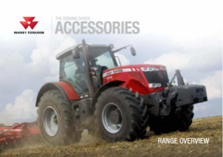 MF Genuine Accessories Brochure