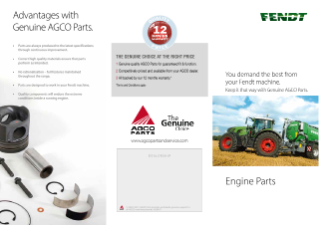 FT Genuine Engine Parts Leaflet 2018
