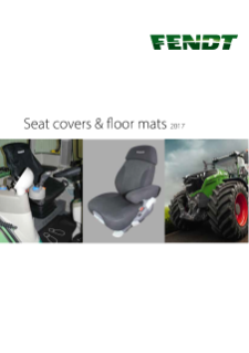 Fendt Seat Covers & Floor Mats 2017