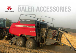 MF baler accessories brochure