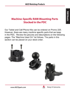 RAM PDC Parts Cover