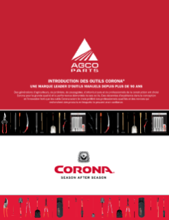 Corona Lawn and Garden Tool Brochure - French