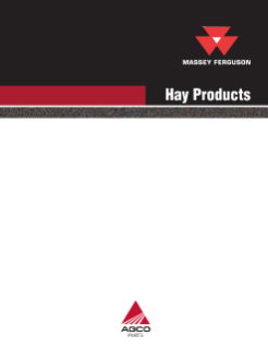 Massey Ferguson Hay Products Guide