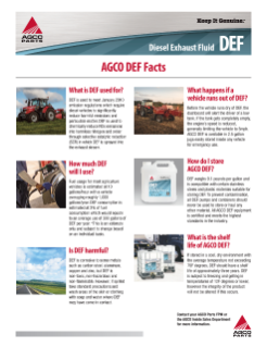 AGCO DEF Facts
