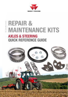 MF Axles and Steering - Repair and Maintenance Kits GB