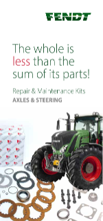 Fendt Axles and Steering Leaflet Retail GB