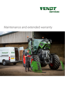 Fendt Maintenance and Extended Warranty GB