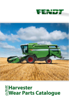 Fendt Harverster Wear Parts Catalogue 2016-2017 FR