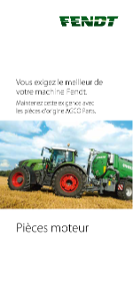 Fendt Engine Leaflet FR