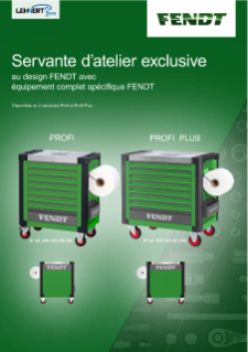 Fendt Workshop Trolley Brochure FR