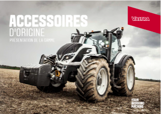 Valtra Genuine Accessories Range - FR